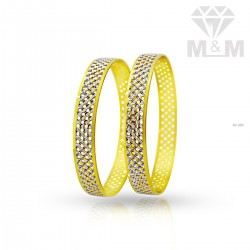 Incredible Gold Rhodium Bangle