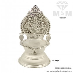 Beauteous Silver Kamatchi...