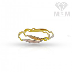 Formidable Gold Fancy Bangle