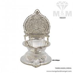 Elegant Silver Kamatchi...