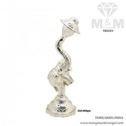 Glorious Silver Elephant...
