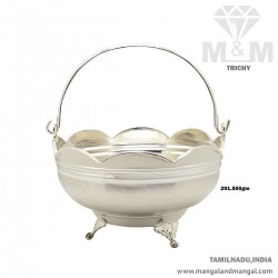 Great Silver Pooja Basket