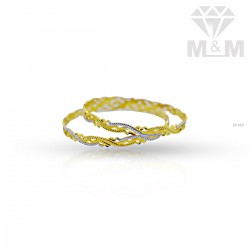 Incomparable not Gold Rhodium Bangle
