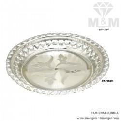 Majestic Silver Fancy Plate