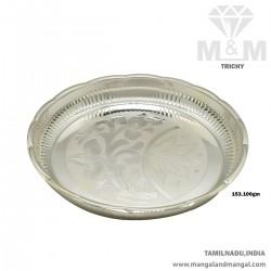 Classy Silver Fancy Plate