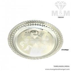 Alluring Silver Fancy Plate