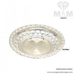 Pristine Silver Fancy Plate