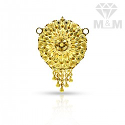 Fantastic Gold Fancy Pendant
