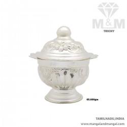 Nicest Silver Kumkum Chimizh