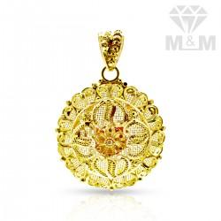 Gentle Gold Fancy Pendant