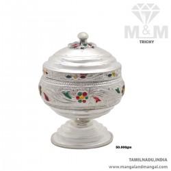 Tranquil Silver Kumkum Chimizh