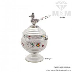 Esthetic Silver Kumkum Chimizh