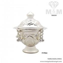 Auspicious Silver Kumkum...