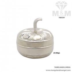 Amiably Silver Kumkum Chimizh