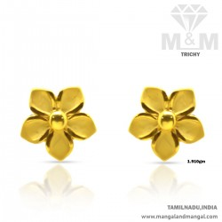 Awesome Gold Women Casting Earring