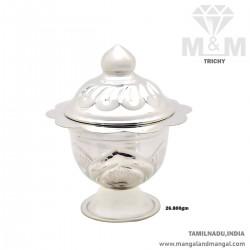 Gorgeous Silver Kumkum Chimizh