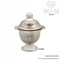 Lovely Silver Kumkum Chimizh