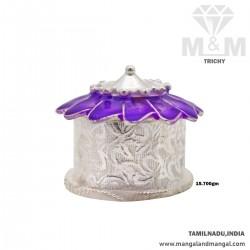 Artful Silver Fancy Kumkum Chimizh