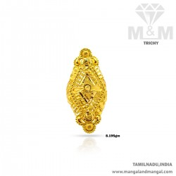 Jazziest Gold Women Fancy Ring