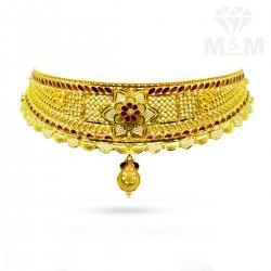 Stylish Gold Fancy Choker...