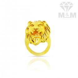 Serene Gold Casting Lion...