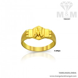 Exciting Gold Men Casting Ring
