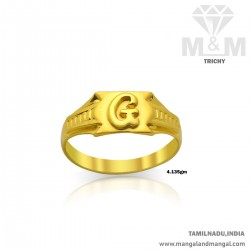 Glorious Gold Men Casting Ring