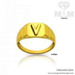 Handsome Gold Men Casting Ring