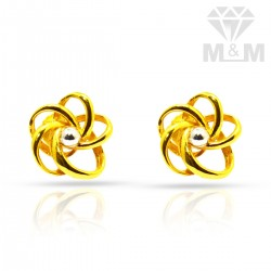 Picturesque Gold Casting Stud
