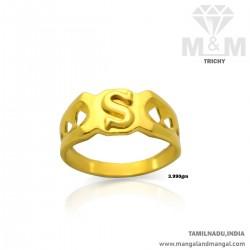 Splendid Gold Men Casting Ring