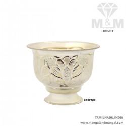 Stylish Silver Sandhana Bela