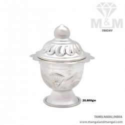 Inspired Silver Kumkum Chimizh