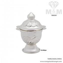 Glorious Silver Kumkum Chimizh