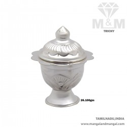 Gentle Silver Kumkum Chimizh