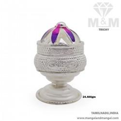 Elegant Silver Fancy Chimizh