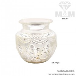 Serene Silver Fancy Sombu