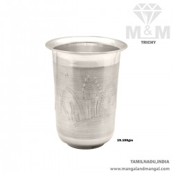 Handsome Silver Fancy Tumbler