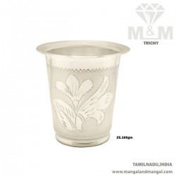 Splendido Silver Fancy Tumbler