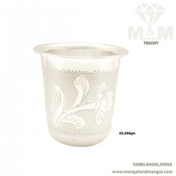 Unrivaled Silver Fancy Tumbler