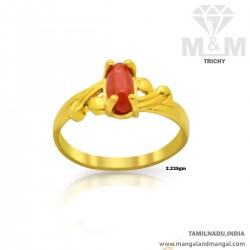 Marvelous Gold Women Coral...