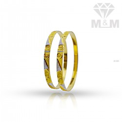 Cute Gold Rhodium Bangle