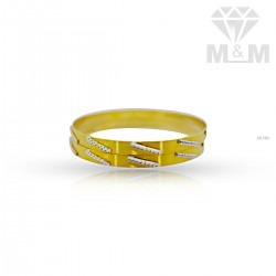 Dandy Gold Rhodium Bangle