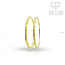 Fascinate Gold Rhodium Bangle