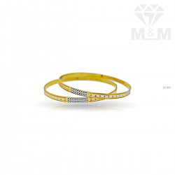 Lush Gold Rhodium Bangle