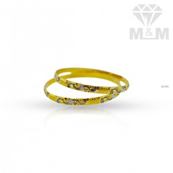 Marvelous Gold Rhodium Bangle