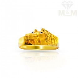 Ancient Gold Casting Ring