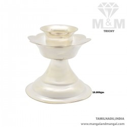 Tremendous Silver Candle Stand