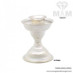 Unique Silver Candle Stand