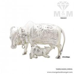 Splendid Silver Kamadhenu...