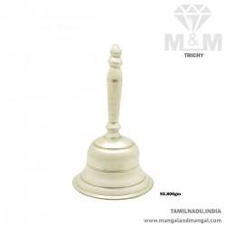 Dreamy Silver Pooja Bell